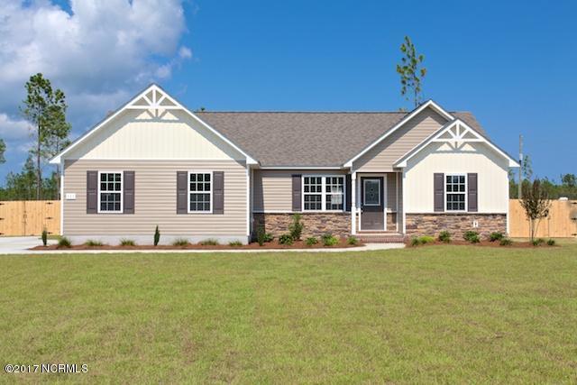 611 Duncan Drive N Lot # 117, Richlands, NC 28574 (MLS #100054420) :: Century 21 Sweyer & Associates
