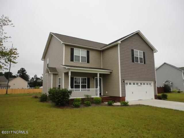 109 Louie Lane, Jacksonville, NC 28540 (MLS #100055067) :: Century 21 Sweyer & Associates