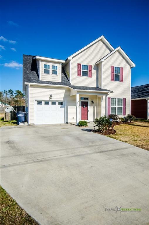 110 Thompson Street, Jacksonville, NC 28540 (MLS #100061160) :: Century 21 Sweyer & Associates