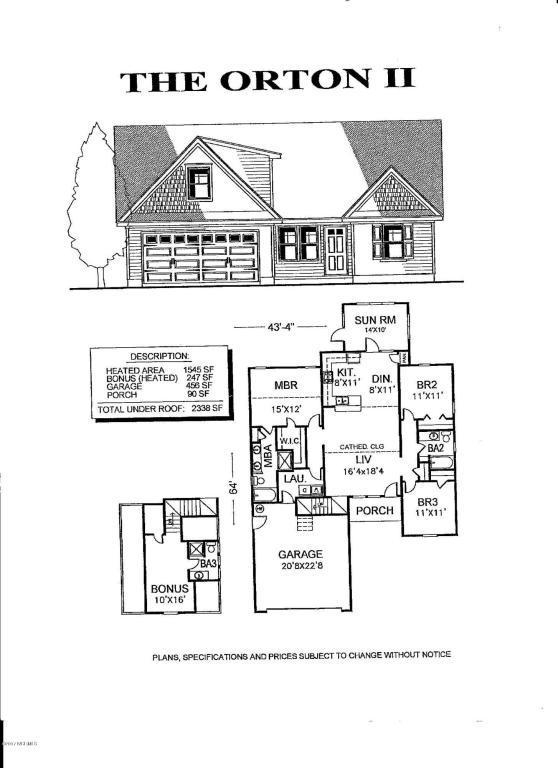 444 N Culverton Road, Leland, NC 28451 (MLS #100062807) :: Century 21 Sweyer & Associates