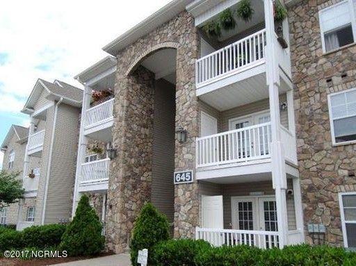 645 Condo Club Drive #304, Wilmington, NC 28412 (MLS #100063380) :: Century 21 Sweyer & Associates