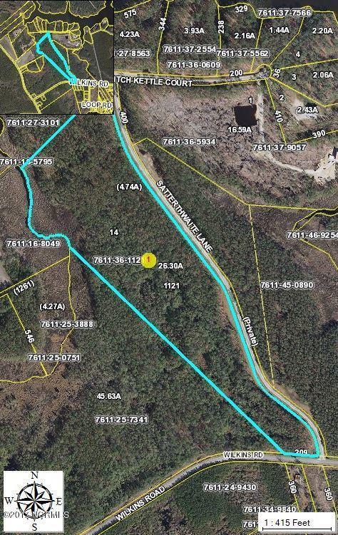 Lot 14 Satterthwaite Lane, Belhaven, NC 27810 (MLS #100064112) :: Century 21 Sweyer & Associates