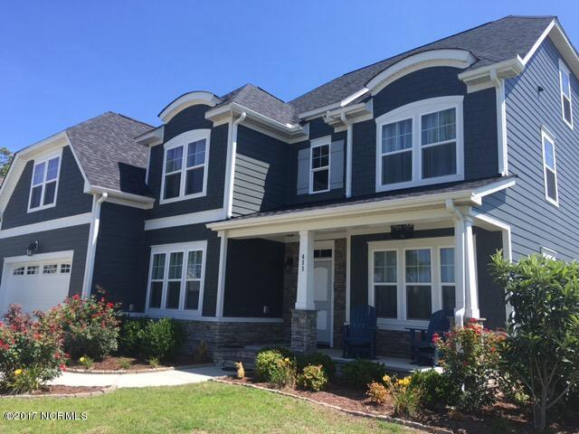 411 Cutter Way, Newport, NC 28570 (MLS #100072860) :: Century 21 Sweyer & Associates