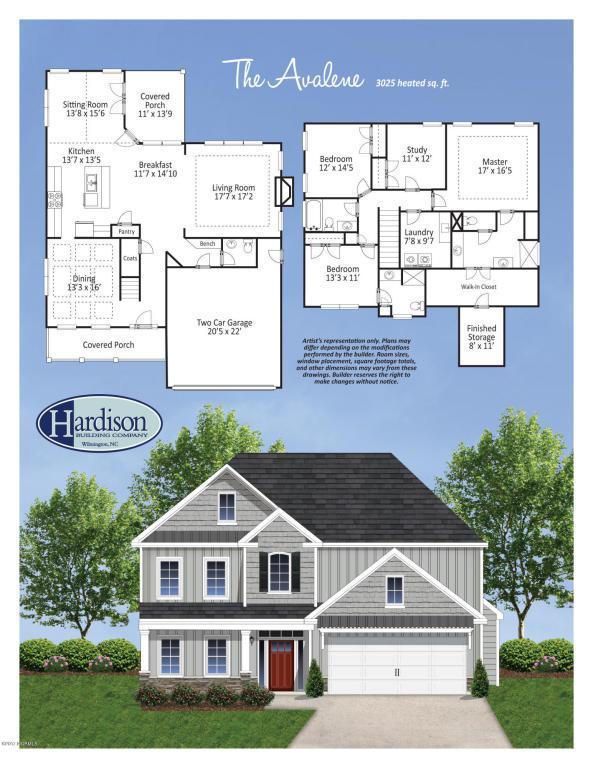 1105 Canopy Way, Wilmington, NC 28409 (MLS #100073167) :: David Cummings Real Estate Team