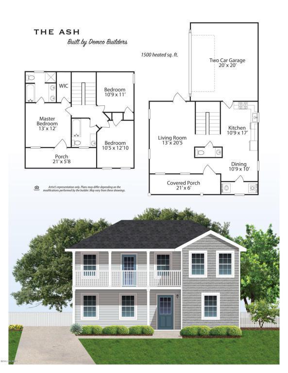 105 Garrett Drive, Jacksonville, NC 28546 (MLS #100073378) :: Century 21 Sweyer & Associates