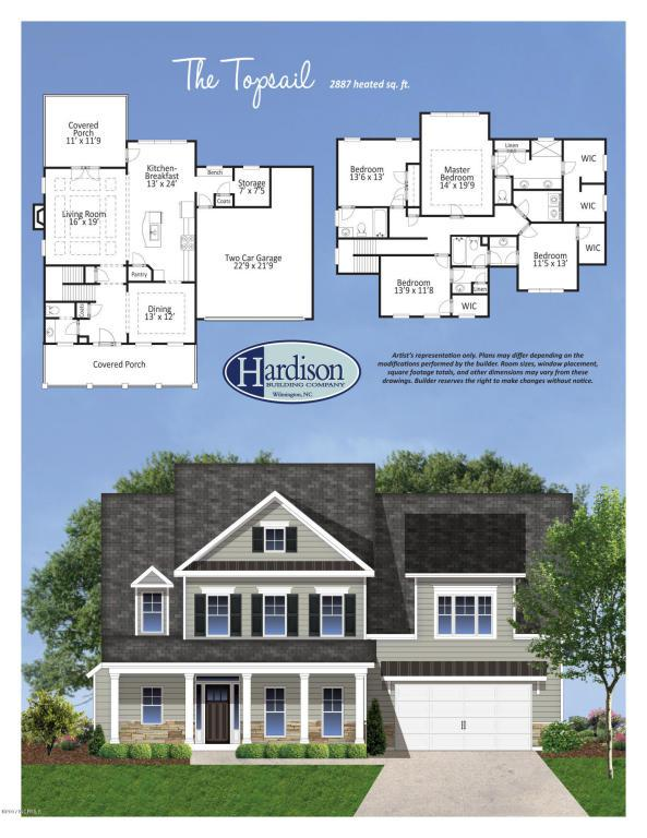 1141 Canopy Way, Wilmington, NC 28409 (MLS #100074332) :: David Cummings Real Estate Team