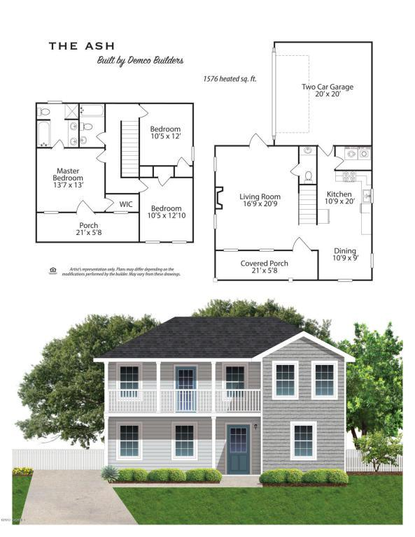 103 Garrett Drive, Jacksonville, NC 28546 (MLS #100075038) :: Century 21 Sweyer & Associates