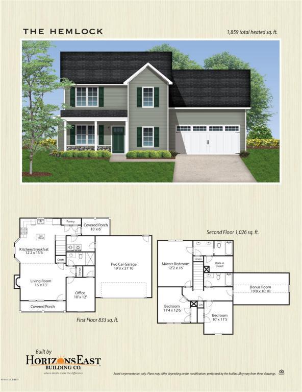 180 Peytons Ridge Drive, Hubert, NC 28539 (MLS #100078142) :: Courtney Carter Homes