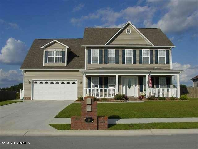 110 Newhan Lane, Jacksonville, NC 28546 (MLS #100078283) :: Courtney Carter Homes