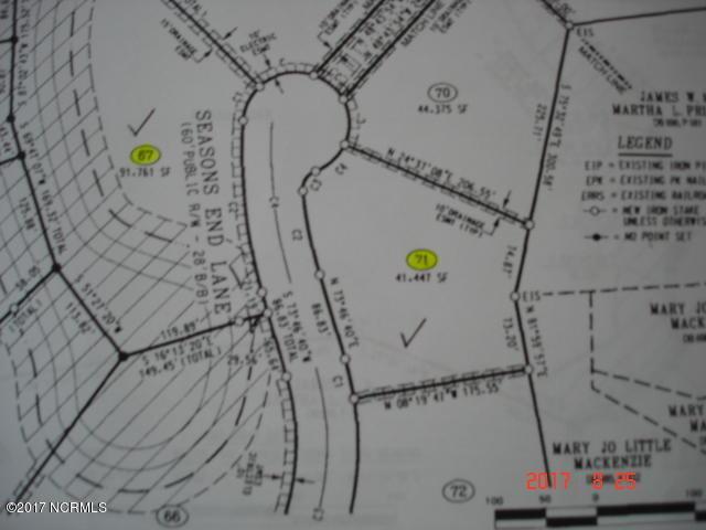 71 Seasons End Lane, Grimesland, NC 27837 (MLS #100079574) :: The Keith Beatty Team