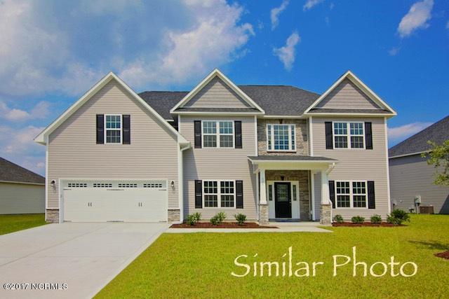 416 Durham Station Drive, Jacksonville, NC 28546 (MLS #100080702) :: Terri Alphin Smith & Co.