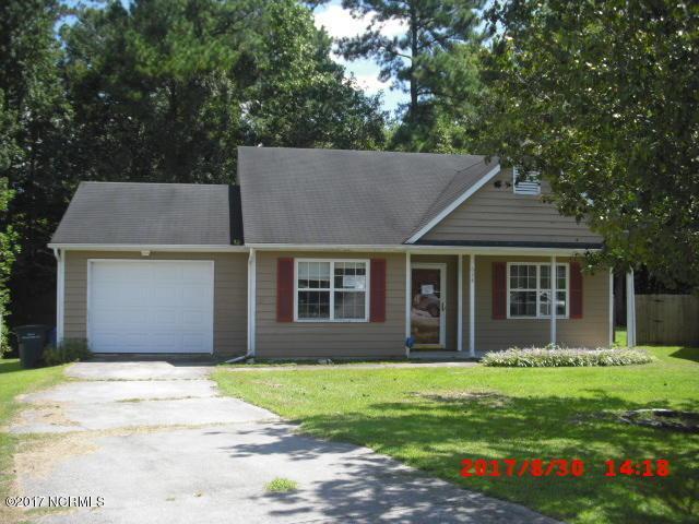 628 S Hampton Drive, Jacksonville, NC 28546 (MLS #100081861) :: Century 21 Sweyer & Associates