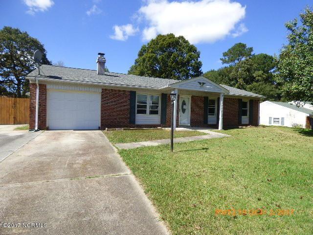 507 Tower Drive, Jacksonville, NC 28546 (MLS #100084616) :: Century 21 Sweyer & Associates