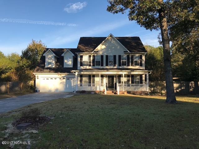 217 English Walnut Drive, Richlands, NC 28574 (MLS #100089901) :: Century 21 Sweyer & Associates