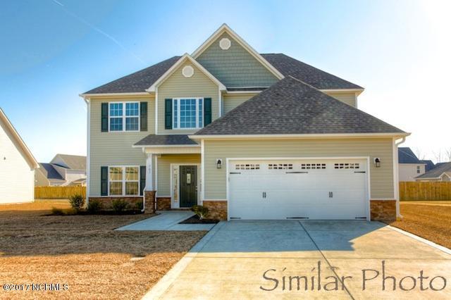 410 Durham Station Drive, Jacksonville, NC 28546 (MLS #100089972) :: Terri Alphin Smith & Co.