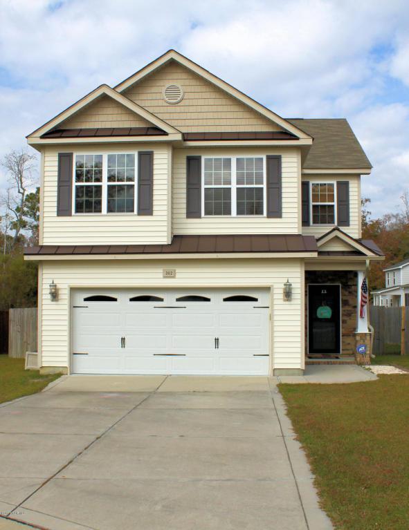 302 Bonnie Court, Sneads Ferry, NC 28460 (MLS #100090005) :: Century 21 Sweyer & Associates