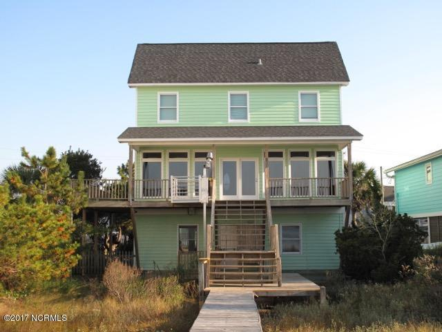 816 Carolina Boulevard, Topsail Beach, NC 28445 (MLS #100092548) :: RE/MAX Essential