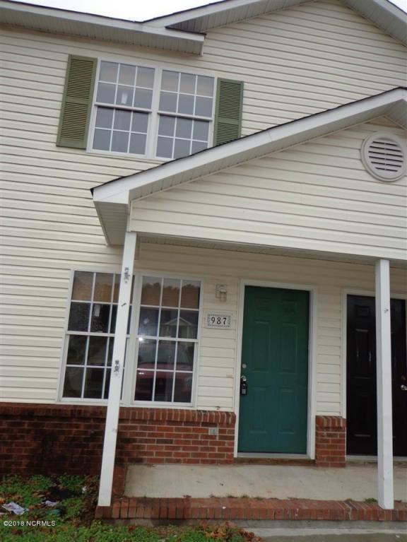 987 W Pueblo Drive, Jacksonville, NC 28546 (MLS #100097123) :: Century 21 Sweyer & Associates