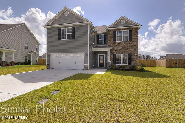 402 Durham Station Drive, Jacksonville, NC 28546 (MLS #100100959) :: The Keith Beatty Team