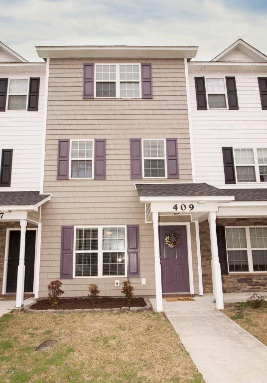 409 Caldwell Loop, Jacksonville, NC 28546 (MLS #100101662) :: Century 21 Sweyer & Associates