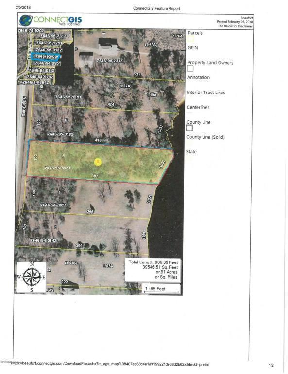 Lot 5 Timber Lane, Belhaven, NC 27810 (MLS #100104227) :: The Keith Beatty Team