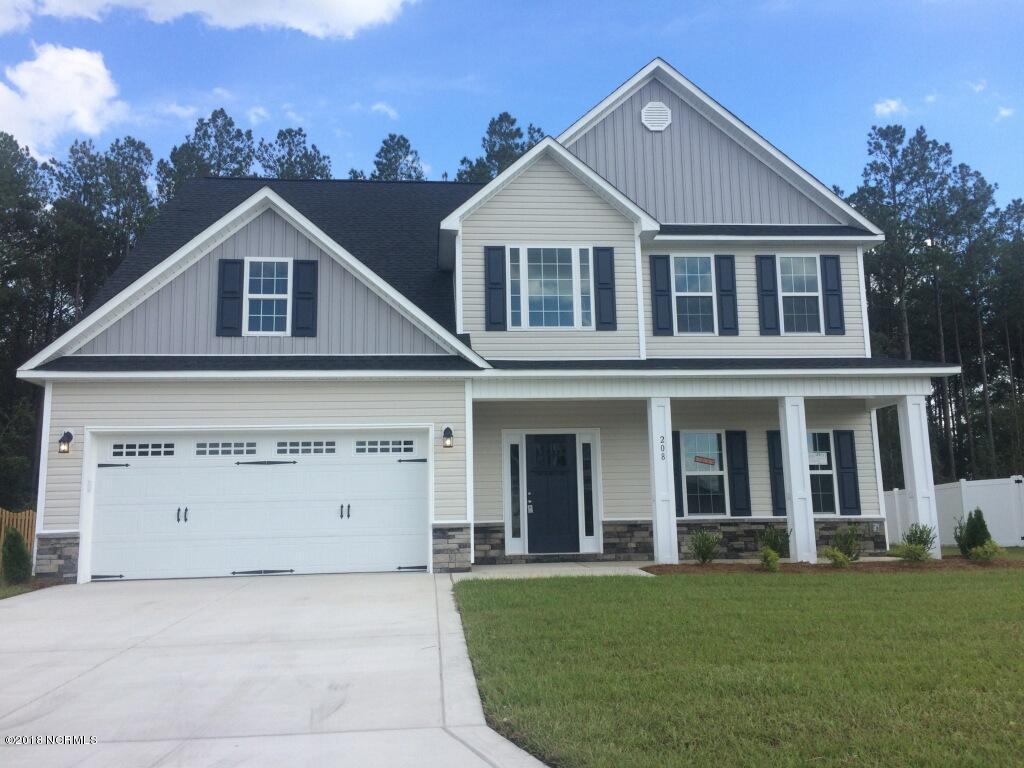 208 Wood House Drive, Jacksonville, NC 28546 (MLS #100109031) :: Harrison Dorn Realty
