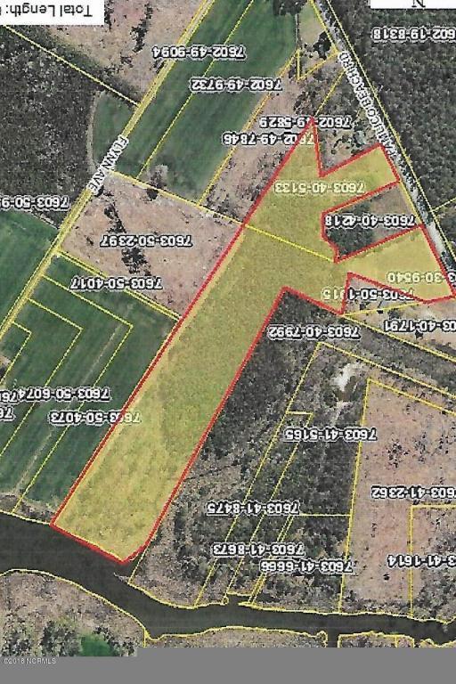 0 State Rd 1725, Belhaven, NC 27810 (MLS #100116927) :: Berkshire Hathaway HomeServices Prime Properties