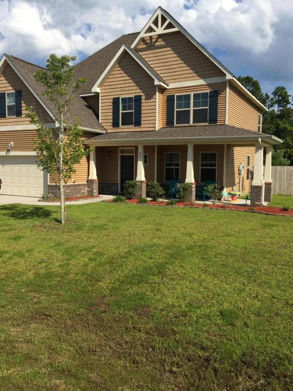 308 Plymouth Lane, Holly Ridge, NC 28445 (MLS #100119875) :: Century 21 Sweyer & Associates