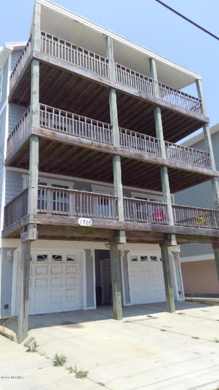 1705 Carolina Beach Avenue N B, Carolina Beach, NC 28428 (MLS #100121181) :: The Oceanaire Realty
