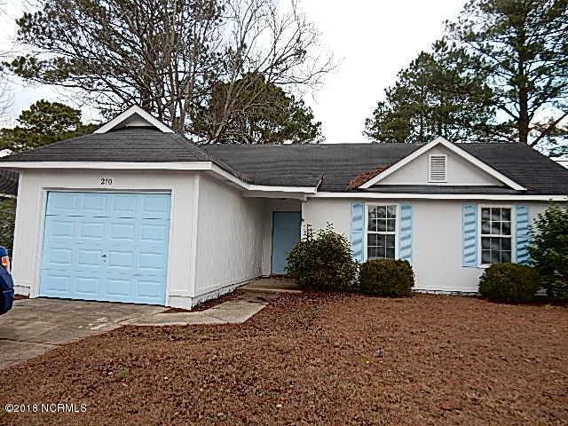210 Hearthstone Drive, Jacksonville, NC 28546 (MLS #100122230) :: RE/MAX Essential