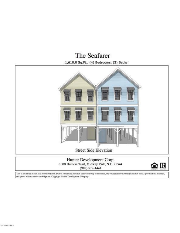 226 Coastal Drive A, North Topsail Beach, NC 28460 (MLS #100125899) :: Courtney Carter Homes