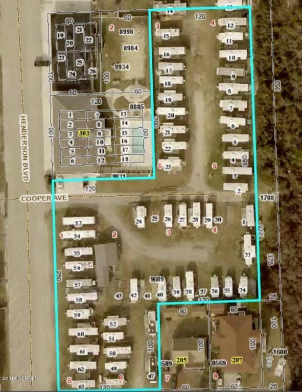 401 Henderson Boulevard, Atlantic Beach, NC 28512 (MLS #100126645) :: Century 21 Sweyer & Associates