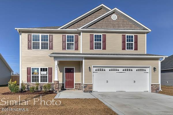 303 Pettigrew Lane, Jacksonville, NC 28546 (MLS #100130558) :: The Keith Beatty Team