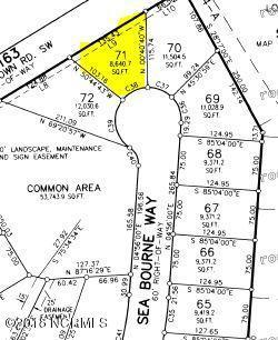Lot 71 Sea Bourne Way, Sunset Beach, NC 28468 (MLS #100136481) :: Courtney Carter Homes