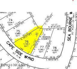 Lot 76 Cape Side Wynd, Sunset Beach, NC 28468 (MLS #100136482) :: Coldwell Banker Sea Coast Advantage