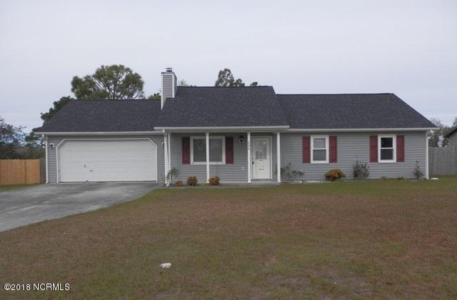 205 Foxtrace Lane, Hubert, NC 28539 (MLS #100141986) :: Terri Alphin Smith & Co.