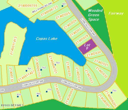 Lot 9 Loblolly Drive SW, Shallotte, NC 28470 (MLS #100148394) :: Coldwell Banker Sea Coast Advantage