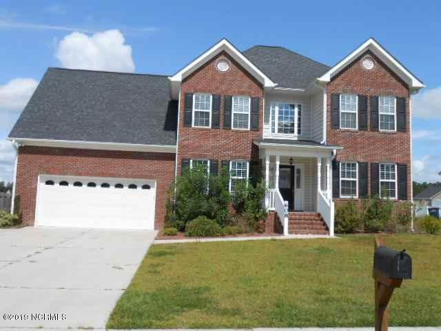 608 Stagecoach Drive, Jacksonville, NC 28546 (MLS #100151514) :: Donna & Team New Bern