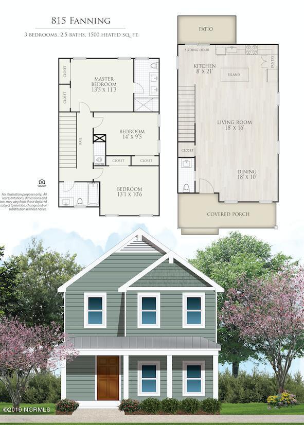 815 Fanning Street, Wilmington, NC 28401 (MLS #100161934) :: Century 21 Sweyer & Associates