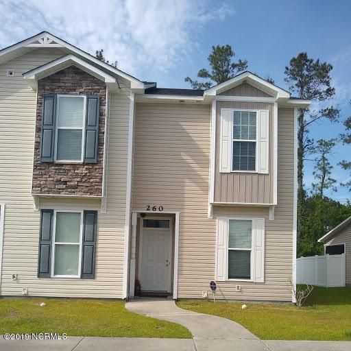 260 Caldwell Loop, Jacksonville, NC 28546 (MLS #100165047) :: The Bob Williams Team