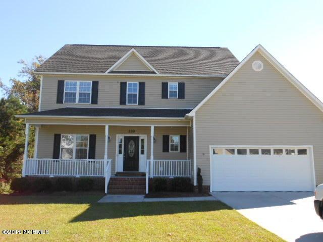 218 Raven Ridge Court, Swansboro, NC 28584 (MLS #100166325) :: RE/MAX Elite Realty Group