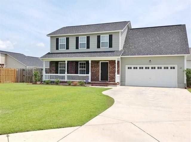 105 Dillard Lane, Richlands, NC 28574 (MLS #100166663) :: Chesson Real Estate Group