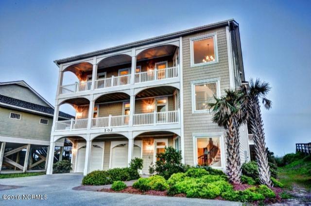 502 N Shore Drive, Surf City, NC 28445 (MLS #100172033) :: Donna & Team New Bern