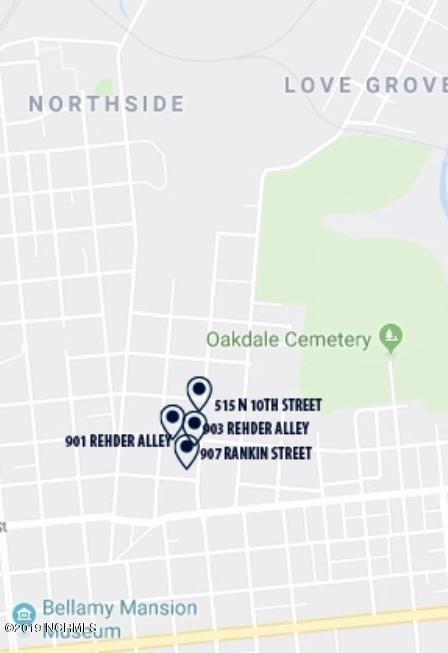 901 Rehder Alley, Wilmington, NC 28401 (MLS #100175471) :: David Cummings Real Estate Team