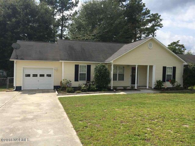 309 Chokecherry N, Richlands, NC 28574 (MLS #100175838) :: Chesson Real Estate Group