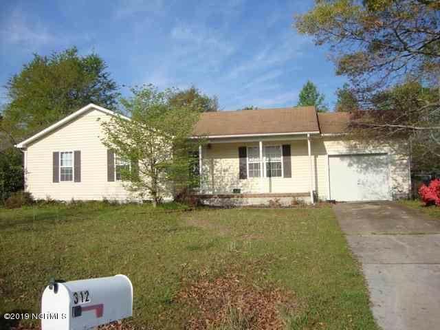 312 Eider Loop, Jacksonville, NC 28540 (MLS #100179986) :: Courtney Carter Homes