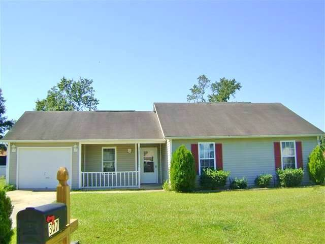 307 Paddock Place, Jacksonville, NC 28546 (MLS #100184549) :: Chesson Real Estate Group