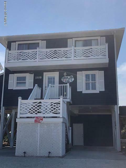 1105 Ocean Boulevard, Topsail Beach, NC 28445 (MLS #100184776) :: Century 21 Sweyer & Associates