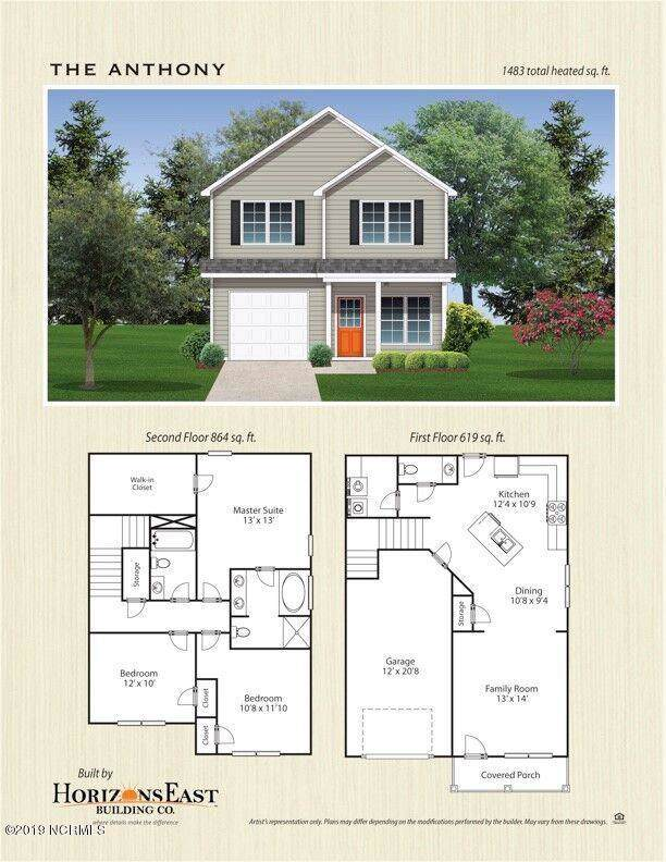 126 Pembury Way Lot 90, Richlands, NC 28574 (MLS #100193473) :: Courtney Carter Homes