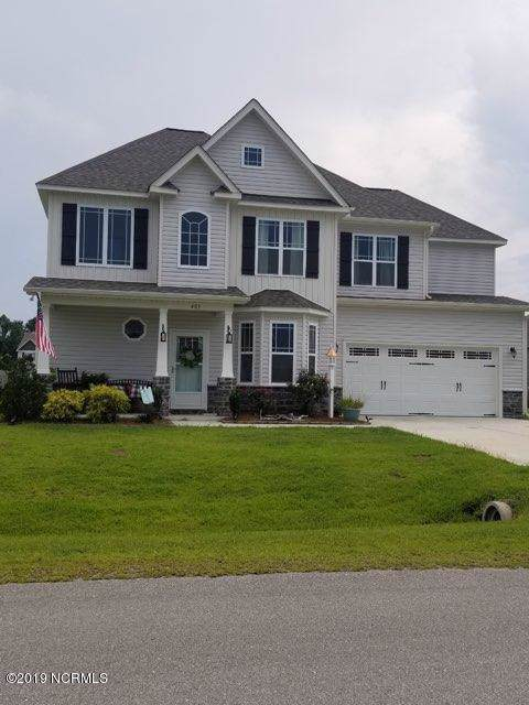 403 Canoe Lane, Swansboro, NC 28584 (MLS #100195037) :: Berkshire Hathaway HomeServices Prime Properties